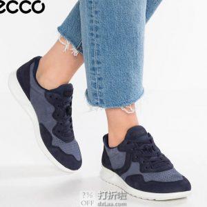 限尺码 ECCO Genna 爱步 珍娜系列 女式休闲鞋 板鞋 ¥418 中亚Prime会员免运费直邮到手约¥464