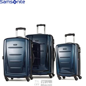 Samsonite 新秀丽 PC硬壳 拉杆箱3件套(20英寸+24英寸+28英寸) 镇店之宝¥1904