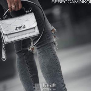 Rebecca Minkoff 瑞贝卡明可弗 Jet'aime 小号女式手提斜挎包 ¥601 中亚Prime会员免运费直邮到手约¥601
