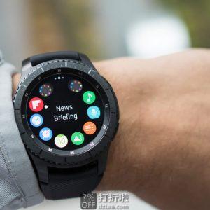 Samsung 三星 Gear S3 Frontier 内置GPS 先锋版智能手表 5.7折$199.99 海淘关税补贴到手约¥1485