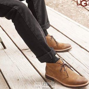 UGG Dagmann 男式短靴 7.5码2.8折$55.53 海淘转运到手约¥463