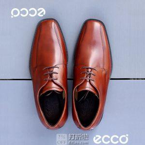 ECCO 爱步 Edinburgh 爱丁堡 系带正装男鞋 40码¥526 中亚Prime会员免运费直邮到手约¥582