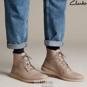 Clarks 其乐 Hale Rise 男式高帮休闲鞋 ¥416