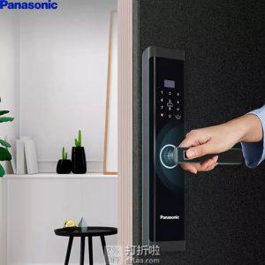 Panasonic 松下 X1指纹锁 电子锁 磨砂黑 ¥1999秒杀