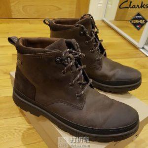 Clarks 其乐 Rushway Mid GTX防水 男式短靴 ¥494 两色可选