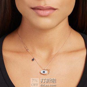 Swarovski 施华洛世奇 玫瑰金色恶魔之眼项链 5172560 双重优惠折后¥349
