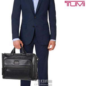 TUMI 途明 Alpha 2系列 15.6英寸 真皮公文包 电脑包 镇店之宝¥2169 中亚Prime会员免运费直邮到手约¥2497