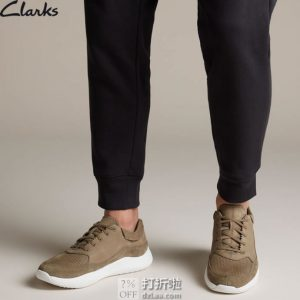 Clarks 其乐 Sift 91 男式休闲鞋 26139590 ¥390