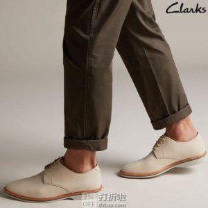 Clarks 其乐 Atticus Lace 男式牛津鞋 26139858 ¥390