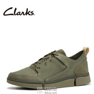 Clarks 其乐 Tri Verve 三瓣底男式休闲鞋 ¥415 中亚Prime会员免运费直邮到手约¥458