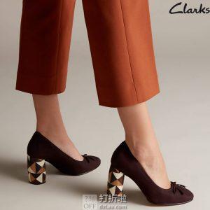 Clarks 其乐 Grace Nina 花跟 女式高跟鞋 ¥364
