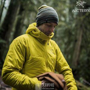 Arc'teryx 始祖鸟 Atom AR 户外男式连帽保暖夹克 M/L码 优惠码折后$179.19 海淘转运到手约¥1252 国内¥3998