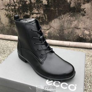 ECCO 爱步 Touch 25 触感25系列 女式系带及踝靴 短靴 37码¥519 中亚Prime会员免运费直邮到手约¥570