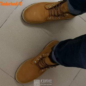 Timberland 添柏岚 Basic Alburn 6英寸 防水男式中帮靴子 43.5码¥484 中亚Prime会员免运费直邮到手约¥536