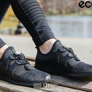 ECCO 爱步 Sense Elastic Toggle 森斯系列 快速锁扣 女式休闲运动鞋 36码5.5折$54.78 海淘转运到手约¥459 中亚Prime会员免运费直邮到手约¥422
