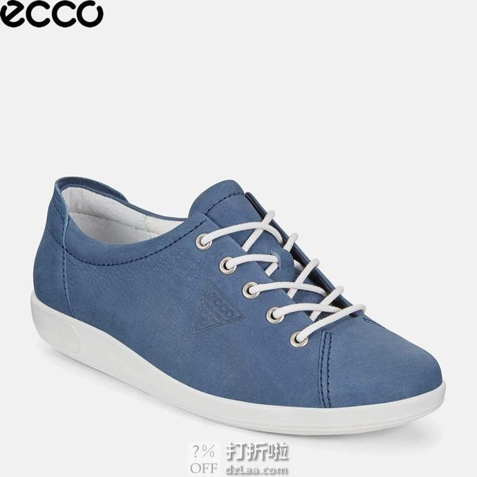ECCO 爱步 SOFT 2 柔酷2号系列 女式休闲鞋 36码中亚Prime会员免运费直邮到手约¥410