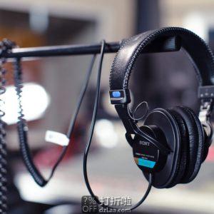 老树常青 SONY 索尼 MDR-7506 专业监听级耳机 6.2折$79.99 海淘转运到手约¥569 中亚Prime会员免运费直邮到手¥601