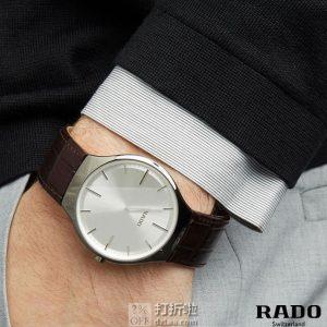 Rado 雷达 真薄系列 R27955105 男式陶瓷手表 优惠码折后$299.99 海淘转运关税补贴到手约¥2161