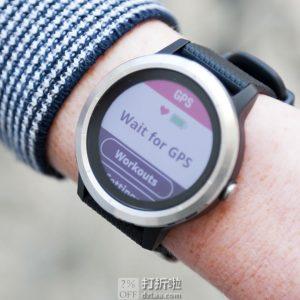 Garmin 佳明 vívoactive 3 GPS 智能运动手表 3.9折$116.99史低 海淘转运关税补贴到手约¥937