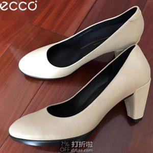 ECCO 爱步 Shape 55 型塑55 女式高跟鞋 单鞋 3.3折$49.99 海淘转运到手约¥430