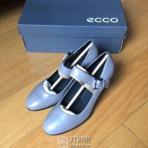 ECCO 爱步 Shape 55 型塑55 玛丽珍款 女式单鞋 镇店之宝¥494 中亚Prime会员免运费直邮到手约¥573