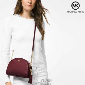 Michael Kors 迈克 科尔斯 Ginny 女式挎包 贝壳包 ¥732 中亚Prime会员免运费直邮到手约¥807 两色可选