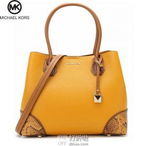 MICHAEL KORS 迈克科尔斯 MERCER GALLERY系列 MK 女式单肩包 ¥1100 中亚Prime会员免运费直邮到手约¥1325