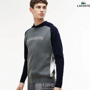 Lacoste 法国鳄鱼 男式套头衫 卫衣 S码2.7折$46.85 海淘转运到手约¥375