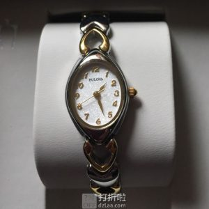 金盒特价 Bulova 宝路华 98v02 女士复古手表 4.3折$75.99 海淘转运关税补贴到手约¥634 中亚Prime会员免运费直邮到手¥569