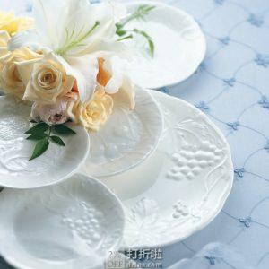 NARUMI 鸣海 Gift Gallery系列 水果花纹骨瓷餐盘 5件套装 ¥223 中亚Prime会员免运费直邮到手约¥253