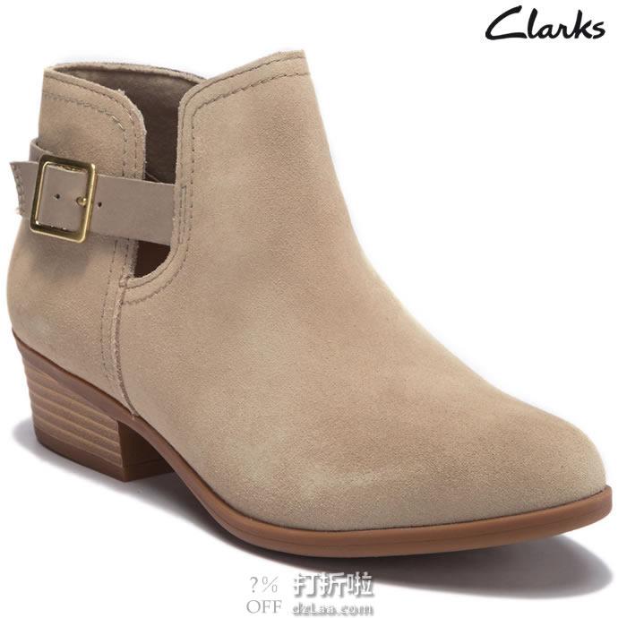 Clark 其乐 addiy carisa 女式踝靴 35.5码$34.7 海淘转运到手约¥326 中亚Prime会员可免运费直邮到手约¥280