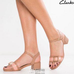 Clarks 其乐 ORABELLA SHINE 女式凉鞋 38码¥340 中亚Prime会员免运费直邮到手约¥378 国内¥839
