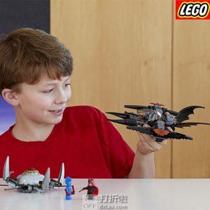 LEGO 乐高 DC 超级英雄系列 蝙蝠侠: 决战兄弟眼 76111 积木玩具 6折$17.99史低 海淘转运到手约¥152