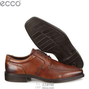 ECCO 爱步 Minneapolis 明斯系列 男式皮鞋 正装鞋 42码4.8折$72.09 海淘转运到手约¥577 中亚Prime会员免运费直邮到手约¥572