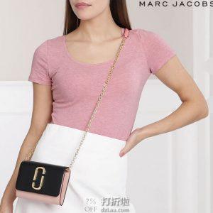 白菜 Marc Jacobs 马克·雅可布 Snapshot 拼色单肩包 下单3折后¥687 两色可选