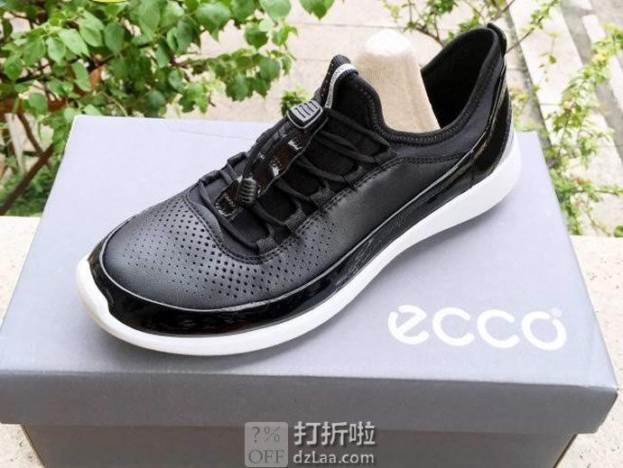 ECCO Soft 5 爱步 柔酷5号 女式运动休闲鞋 36码4.1折$52.99 海淘转运到手¥463 中亚Prime会员免运费直邮到手约¥415