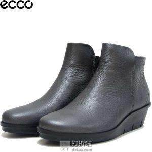 ECCO 爱步 Skyler Wedge 斯凯乐 女式坡跟短靴 4.1折$64.95 海淘转运到手约¥527 中亚Prime会员可免运费直邮到手约¥609