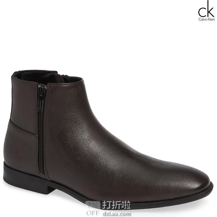 Calvin Klein 卡尔文克莱因 Luciano CK 男式短靴 7.5码2.6折.06 海淘转运到手约¥387