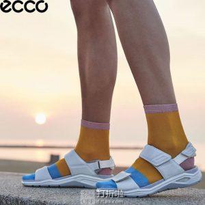 限尺码 ECCO 爱步 19年春夏新款 X-trinsic 全速系列 女式凉鞋 ¥467 中亚Prime会员免运费直邮到手约¥514
