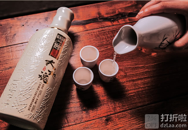 非物质文化遗产 大地魂 洞藏原浆 52度浓香型白酒 500ml 天猫优惠券折后¥23.9包邮(¥33.9-10)