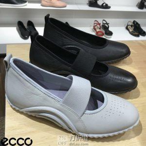 限尺码 ECCO 爱步 19年春季新款 Vibration 活力1.0 女式玛丽珍鞋 ¥415 中亚Prime会员免运费直邮到手约¥459 天猫¥1049