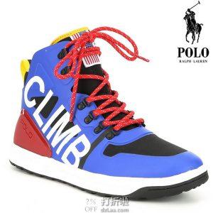 限尺码 Polo Ralph Lauren 拉夫劳伦 Alpine200 男式高帮潮鞋 休闲鞋 2.5折$49.93 海淘转运到手约¥462