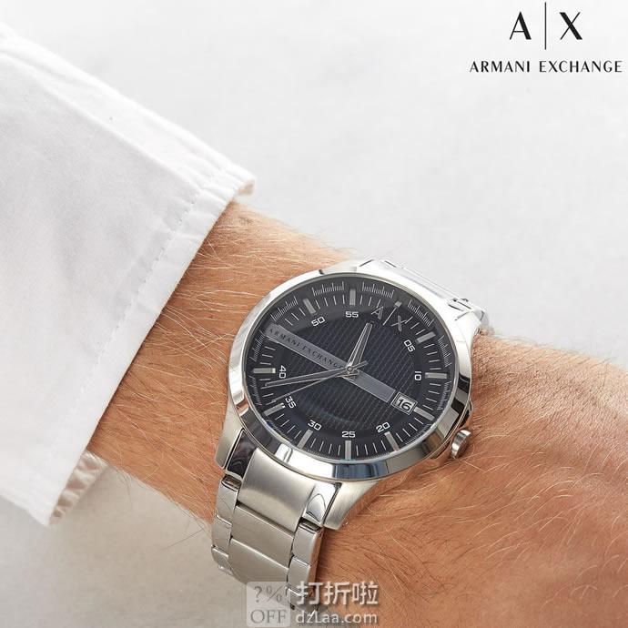 A/X Armani Exchange 男式时装腕表 AX2103 5.4折$86.98 海淘转运关税补贴到手约¥735