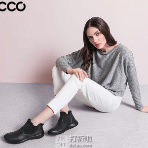 Ecco 爱步 Soft 5 柔酷5号 女式切尔西短靴 35码¥493 中亚Prime会员免运费直邮到手约¥548