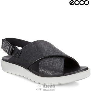 ECCO 爱步 Freja 蕾雅系列 女式舒适凉鞋 3.8折$49.95 海淘转运到手约¥403