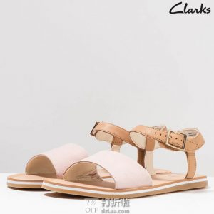 Clarks 其乐 Skylark Pure Youth 女式凉鞋 ¥261起 中亚Prime会员免运费直邮到手约¥289 两色可选