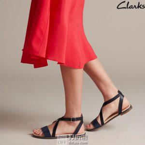 Clarks 其乐 Bay Rosie 女式凉鞋 ¥369 中亚Prime会员免运费直邮到手约¥406 三色可选
