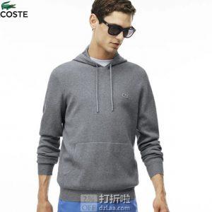 Lacoste 法国鳄鱼 纯棉针织 男式卫衣 L码2.3折$45.43 海淘转运到手约¥357