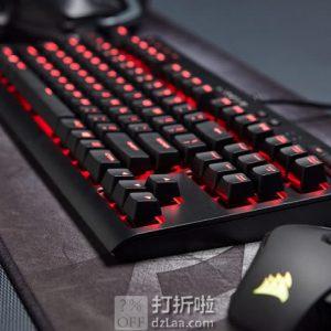 CORSAIR 海盗船 K63 Cherry MX红轴 红色背光 紧凑型 机械键盘 游戏键盘 6.3折$49.99 海淘转运到手约¥437 中亚Prime会员凑单免运费直邮到手约¥430