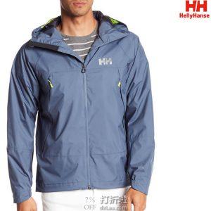 Helly Hansen 哈里汉森 Loke Saga 防水透气 户外男式冲锋衣 S码2.2折$32.83 海淘转运到手约¥287